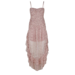 SHONA JOY Ruched Midi Dress