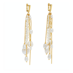 Amber Sceats Balfour Earrings Gold