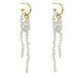Amber Sceats Bryn Earrings Gold