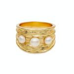 Amber Sceats Laurel Ring Gold