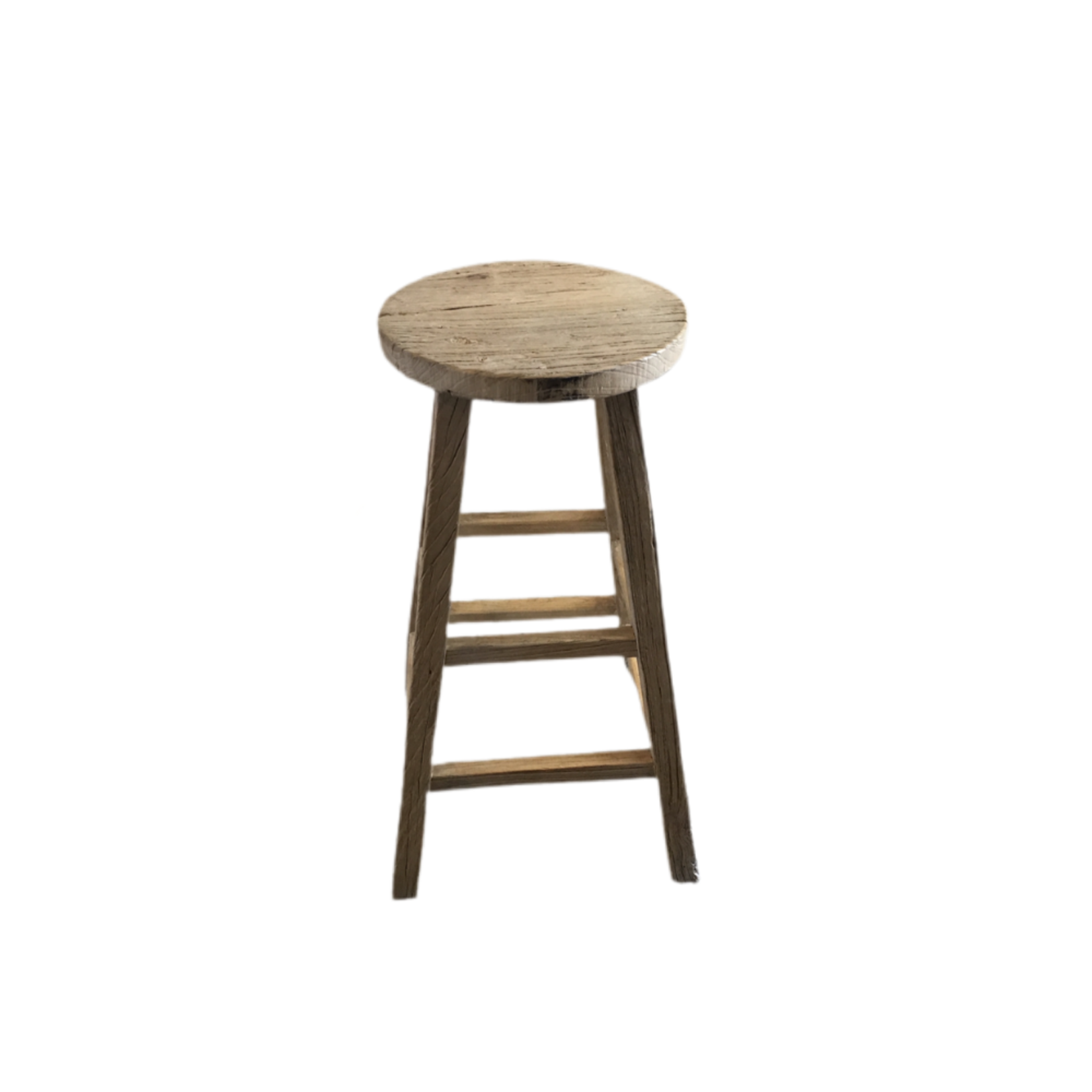 Wyld Blue Home Wooden Bar Stool