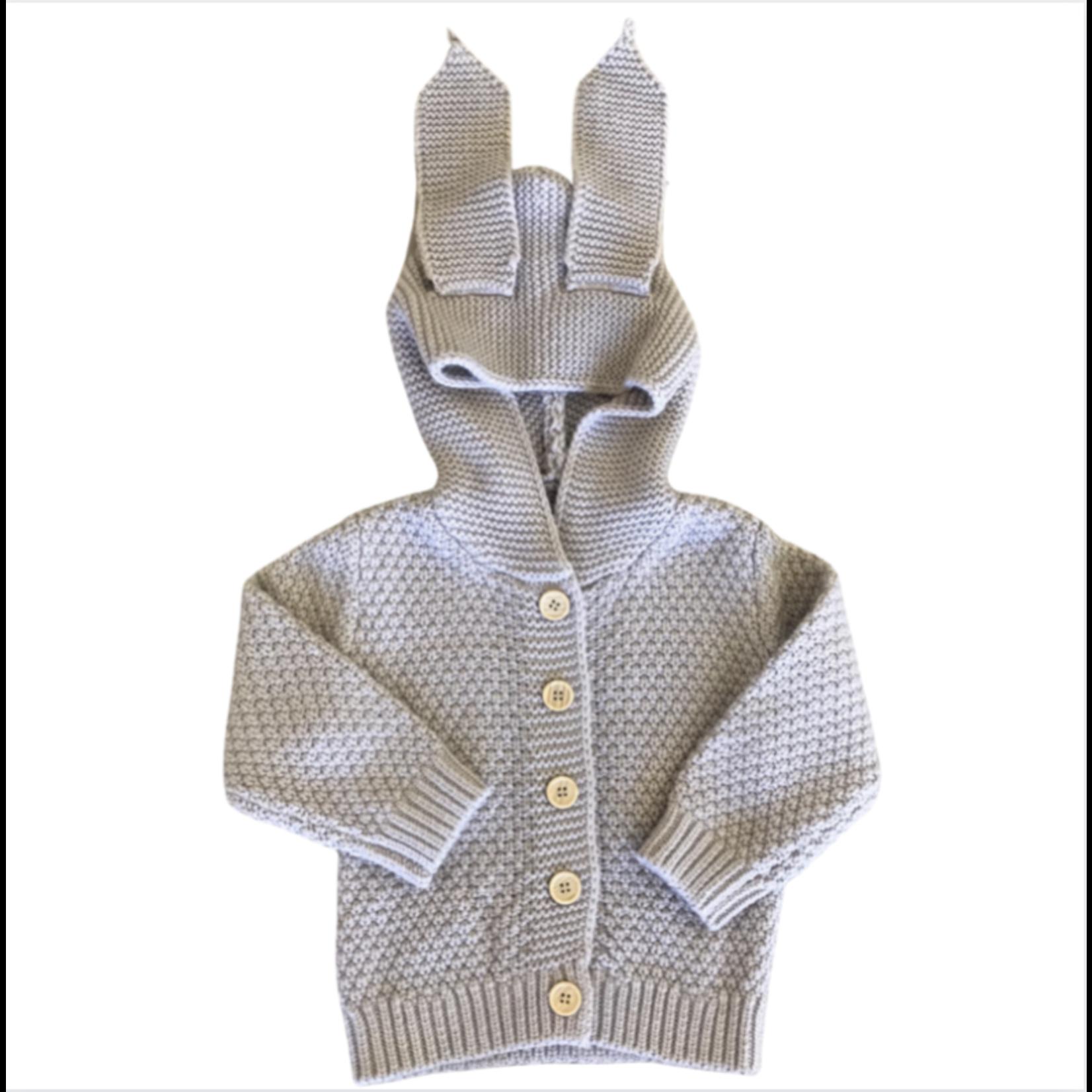 Wyld Blue Kids Bunny Cardigan