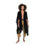 La Troupe Kimono Copal Black