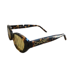 Chanel Chanel Tortoise Yellow Lens Sunglasses