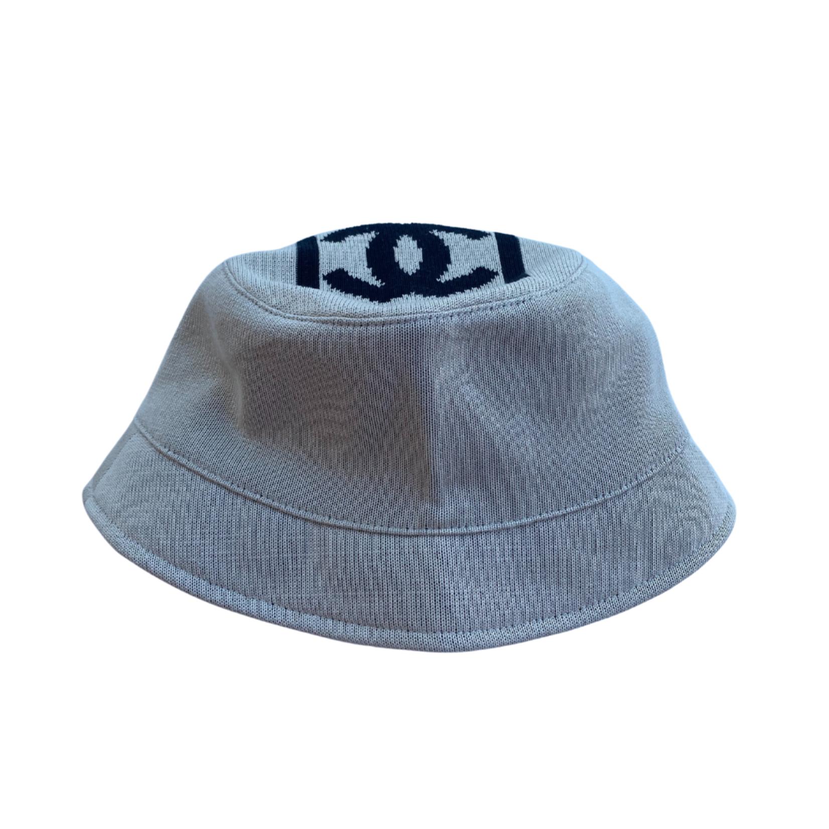 Wyld Blue Vintage Chanel CC Bucket Hat