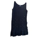 Wyld Blue Vintage Black Chanel Knit Tunic