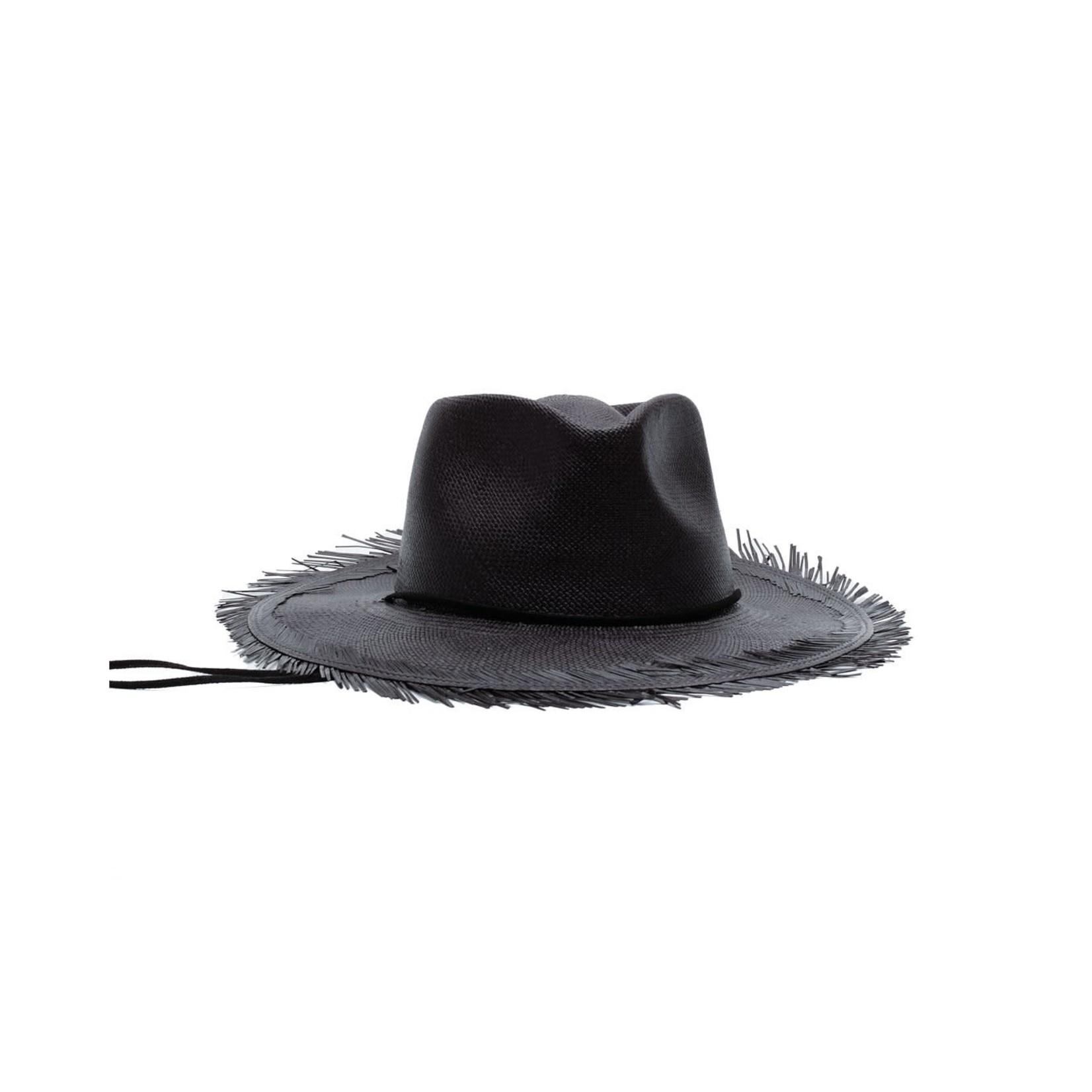 Modern Monarchie Puerto Vallarta Hat Onyx
