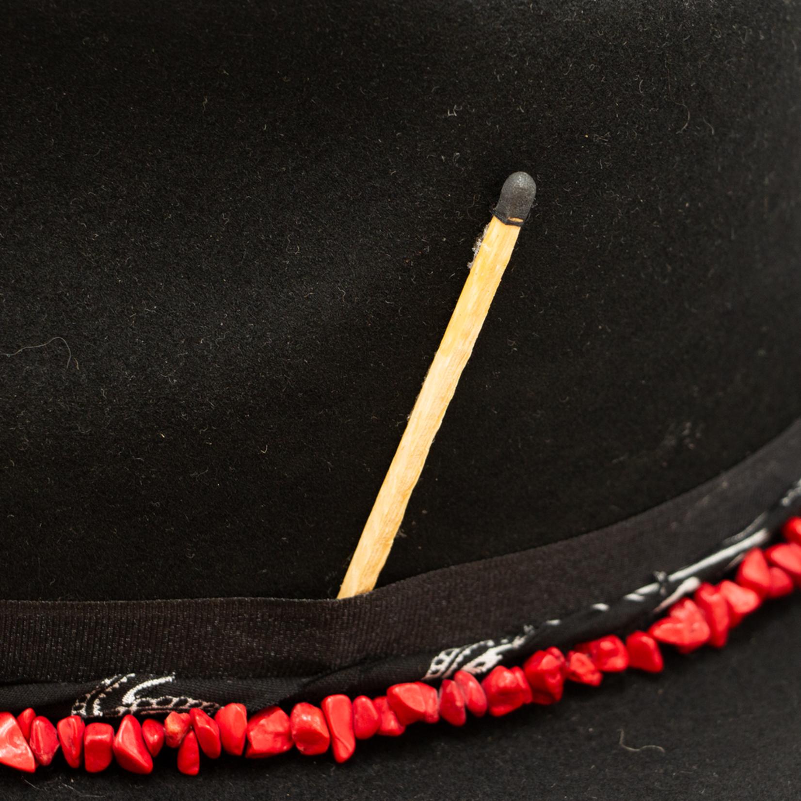 Tuluminati Imix Hat Black Wool