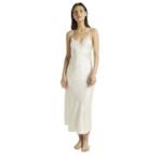 Ginia Long Nite Lace Slip Dress