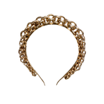 Wyld Blue Thick Chain Headband