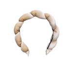 Wyld Blue Twisted Velvet Headband