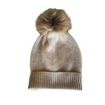 Rendor Cashmere Pom Pom Hat