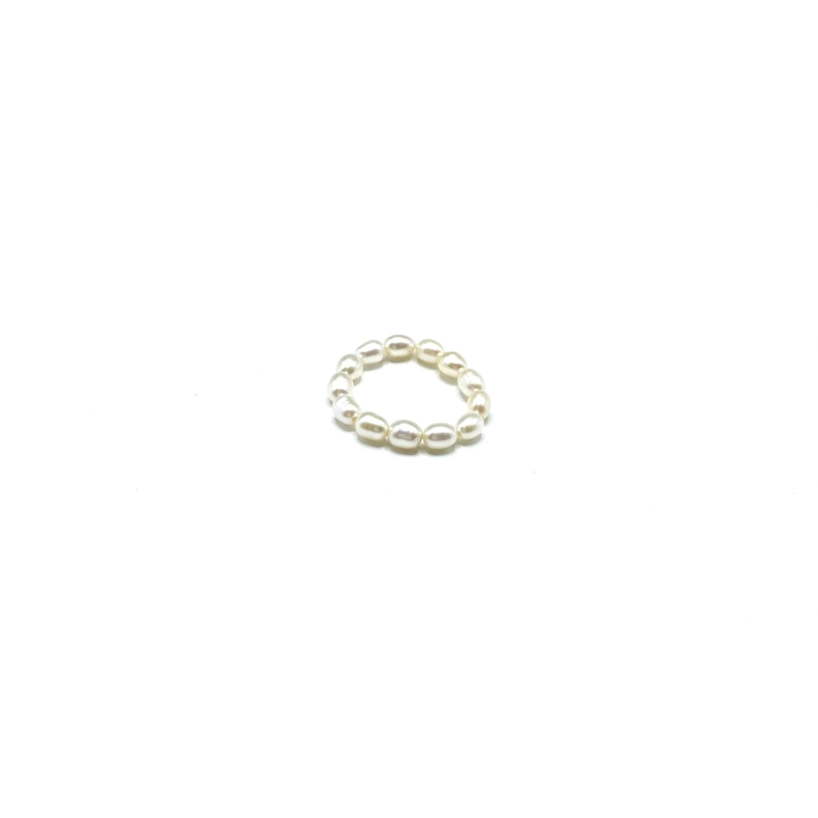 Maison Yo Freshwater Pearl Slider Ring