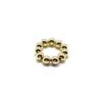 Maison Yo Gold Bead Slider Ring 14k 3mm