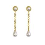 Mountain and Moon Athena Earrings