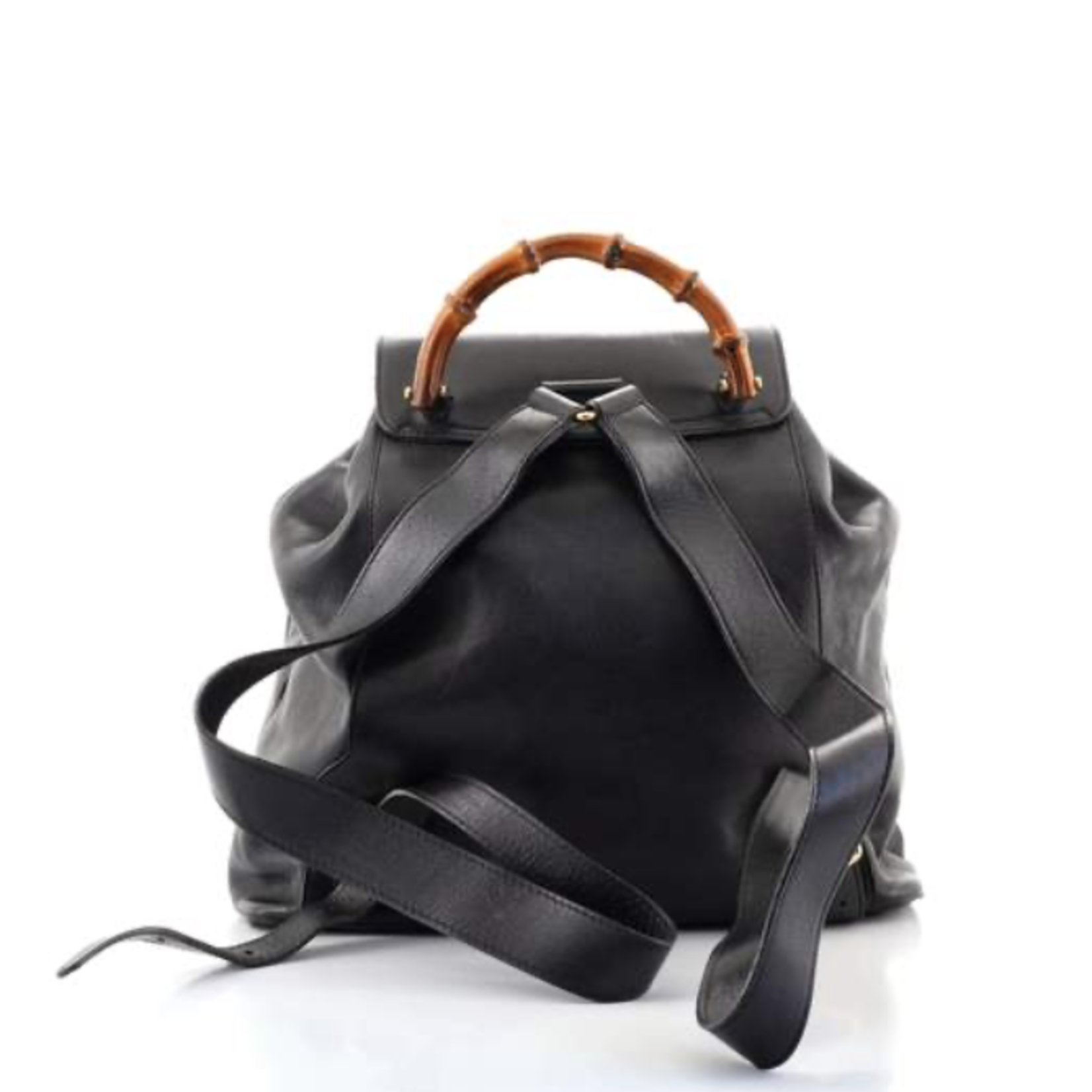 Gucci Gucci Vintage Bamboo Backpack