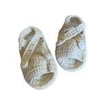 Wyld Blue Kids Baby Knit Sandal Vanilla