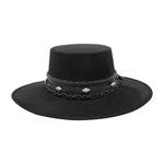 Tuluminati Kiki II Hat Black Suede