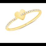 Larsa Marie Olivia Heart Ring