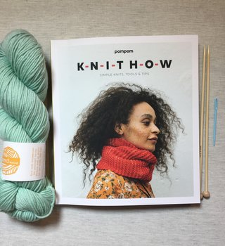 fibre space Learn to Knit Series - Kit One: