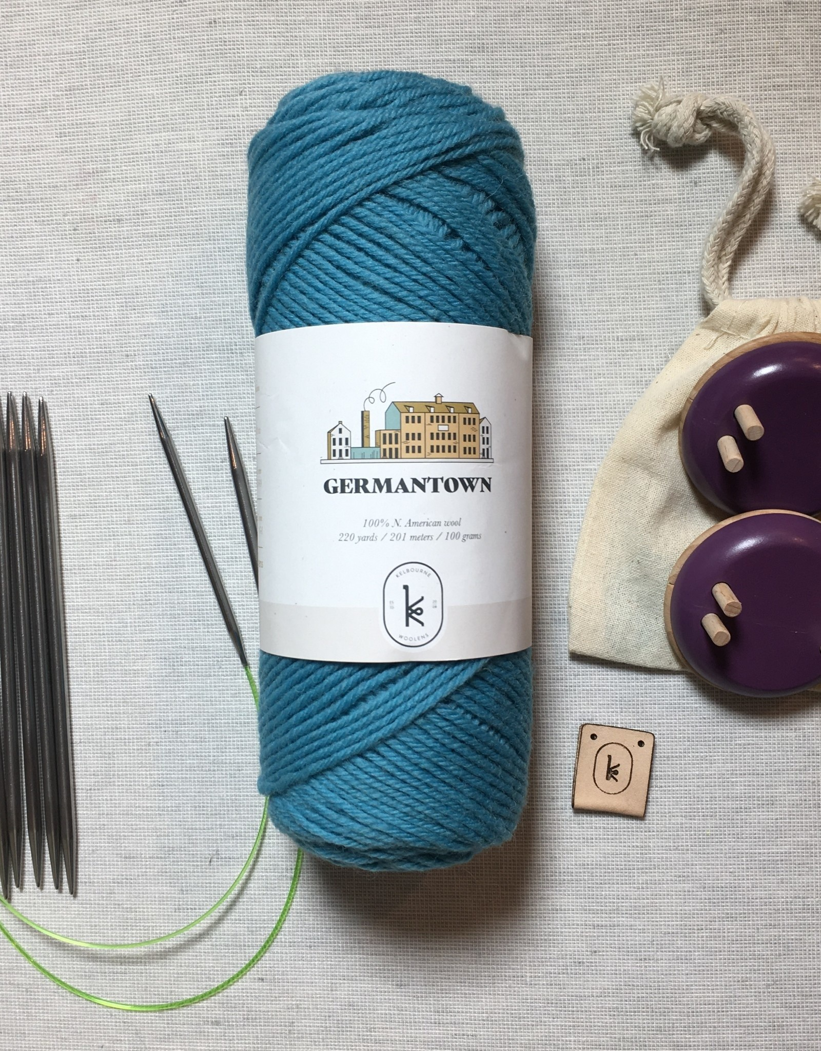 fibre space Learn to Knit Series - Kit Three: