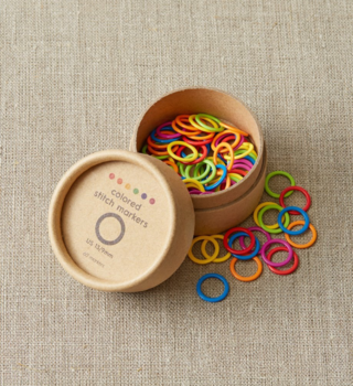 Cocoknits Cocoknits Original Colorful Ring Stitch Markers