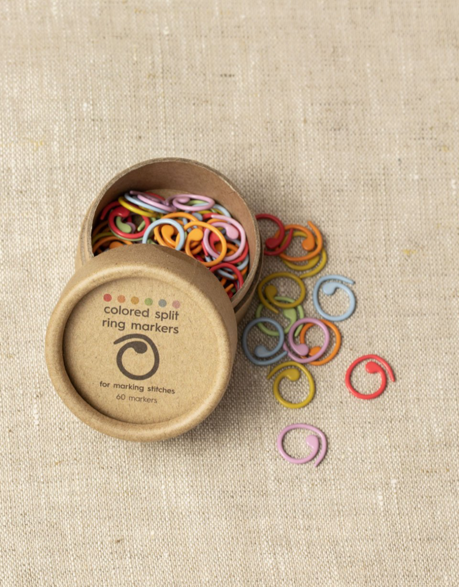Cocoknits Cocoknits Colorful Split Ring Stitch Markers
