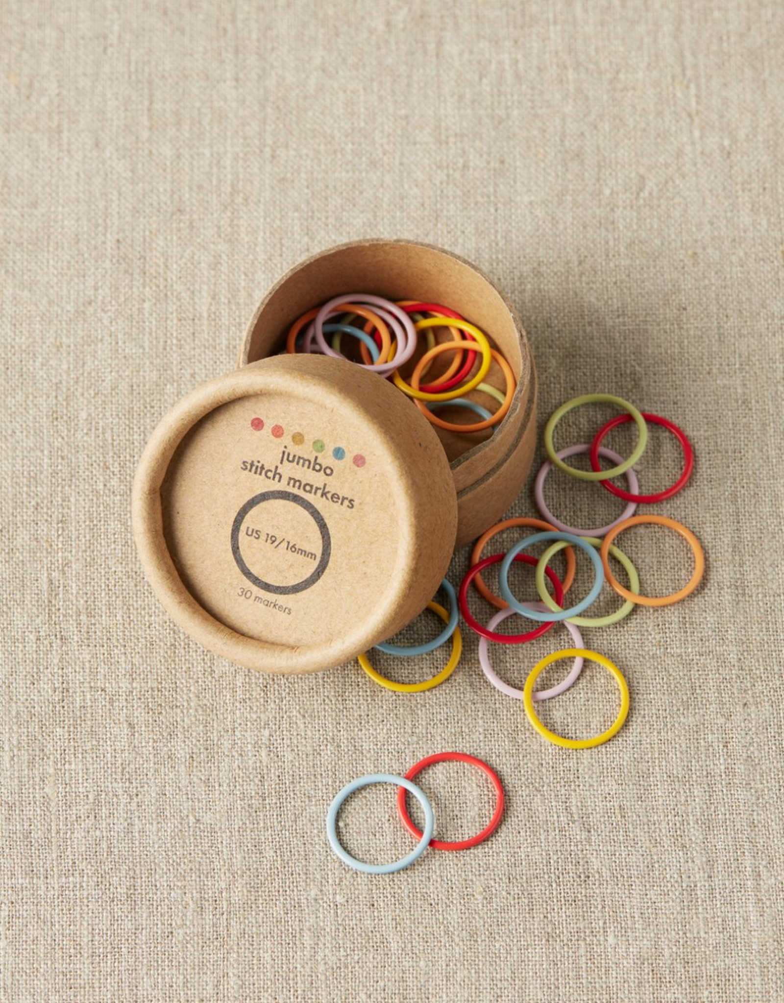 Cocoknits Cocoknits Colorful Ring Stitch Markers Jumbo