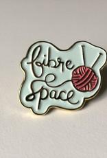 fibre space 2020 Fibre Space Enamel pin