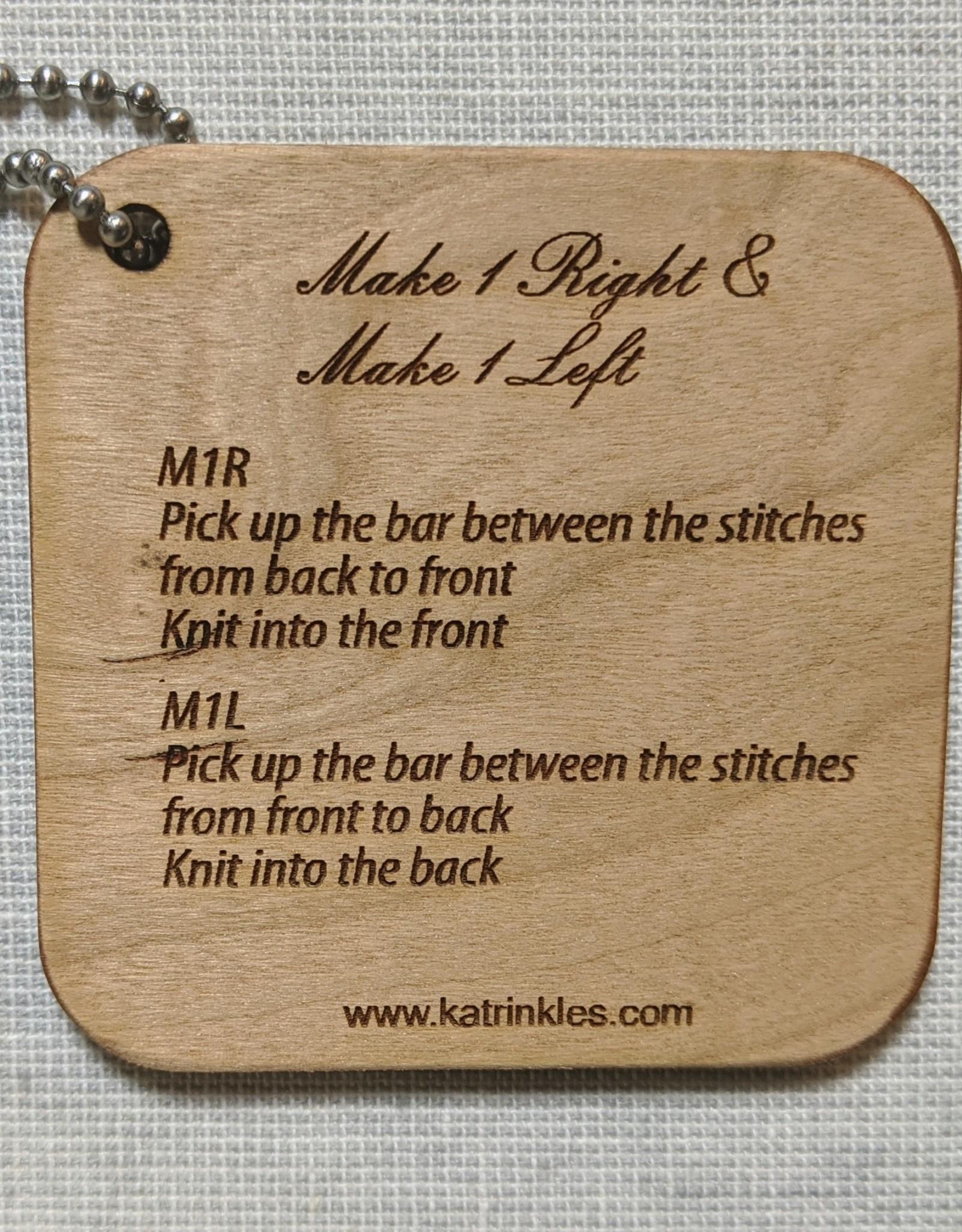 Katrinkles Katrinkles Make 1 Right and Left Mini Tool