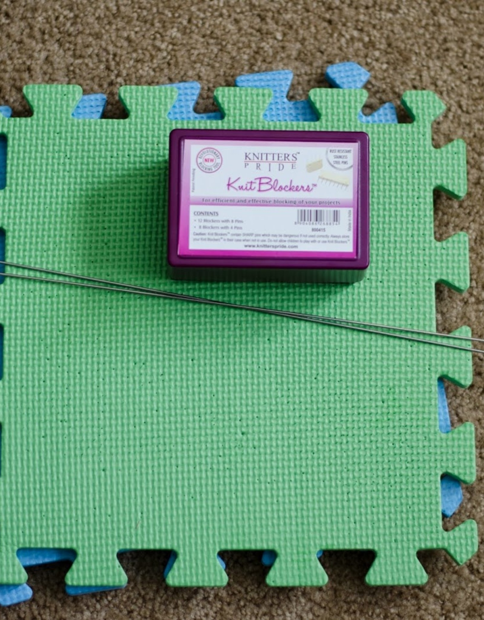 Knitter's Pride Knitter's Pride Lace Blocking Mats, 9 pc