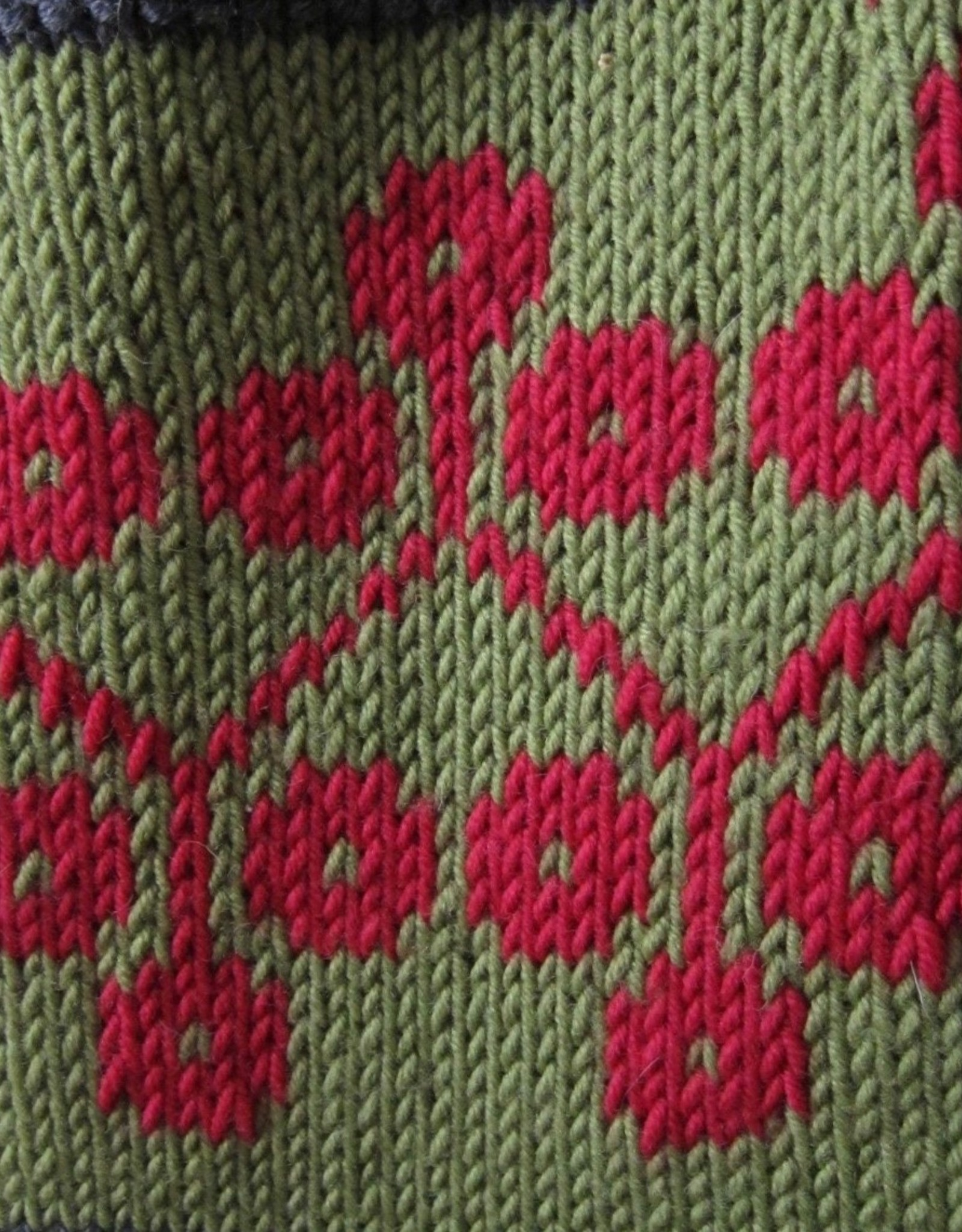 Fair Isle Holiday Stocking: SA Nov 7, 14 & 21, 12-2 pm