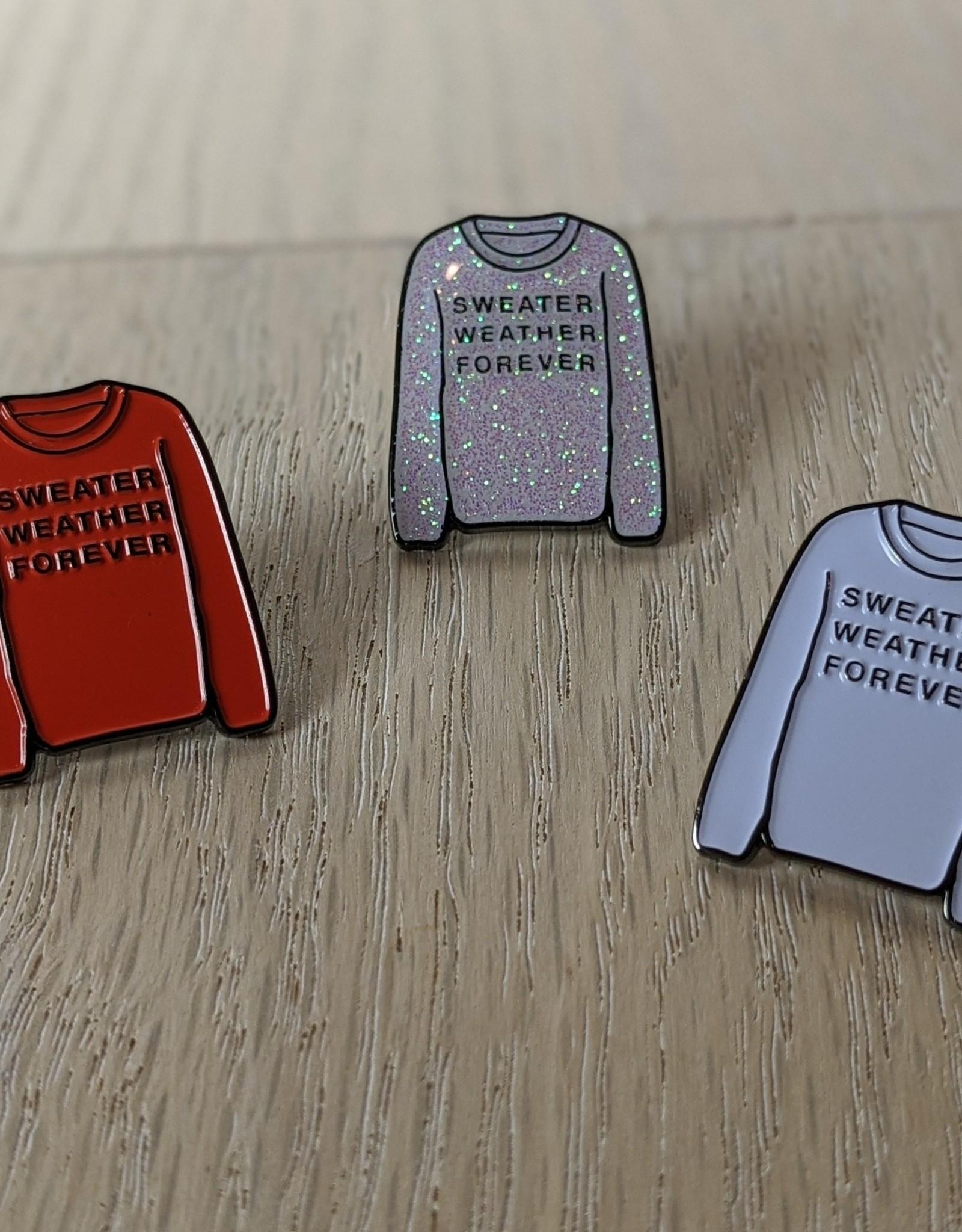 Sweater Weather Pin