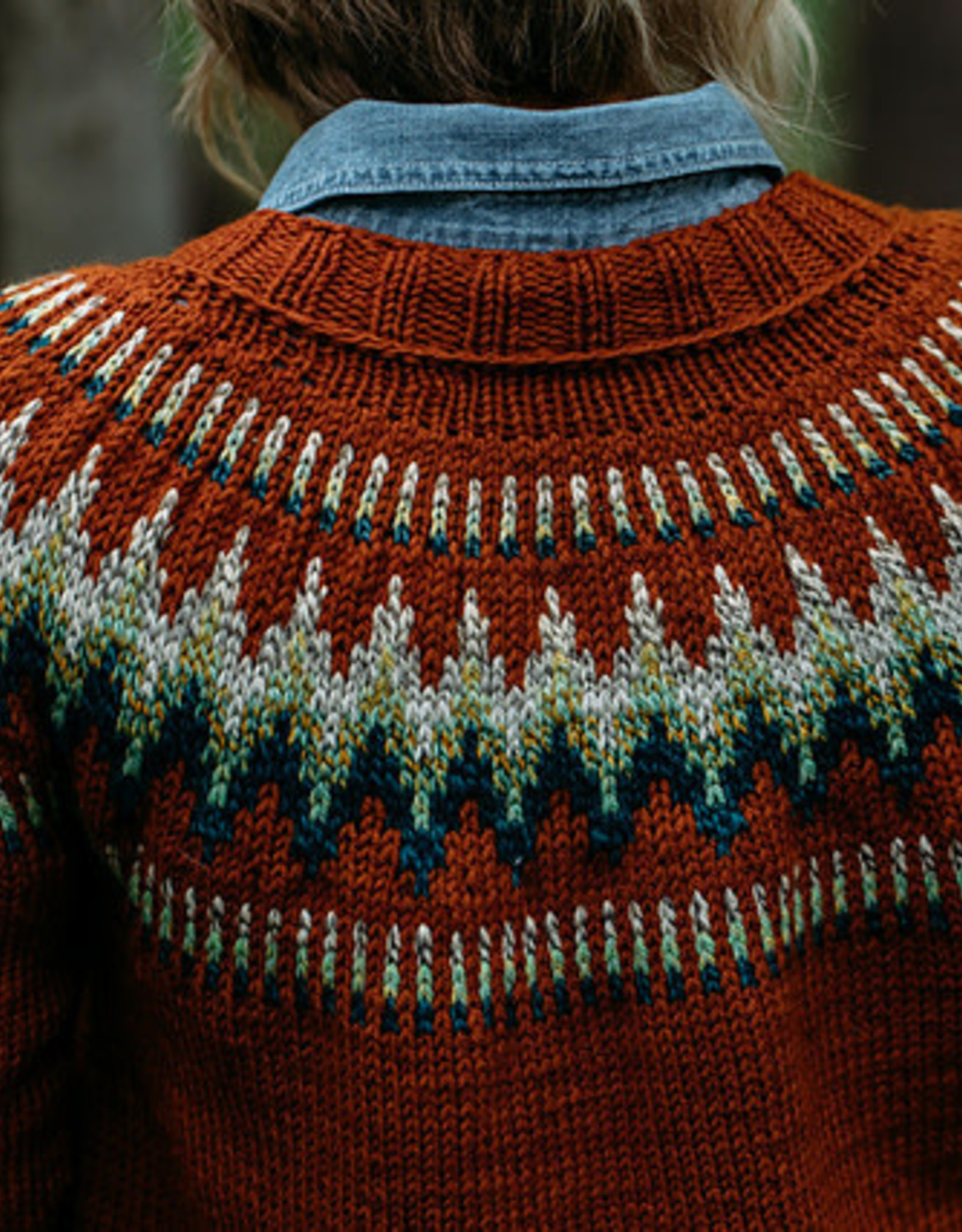 fibre space Sweater Independent Study