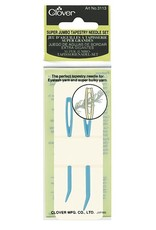 Clover Super Jumbo Tapestry Needle Bent Set 2 pc