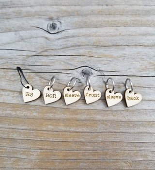 Katrinkles Instruction Stitch Marker Set