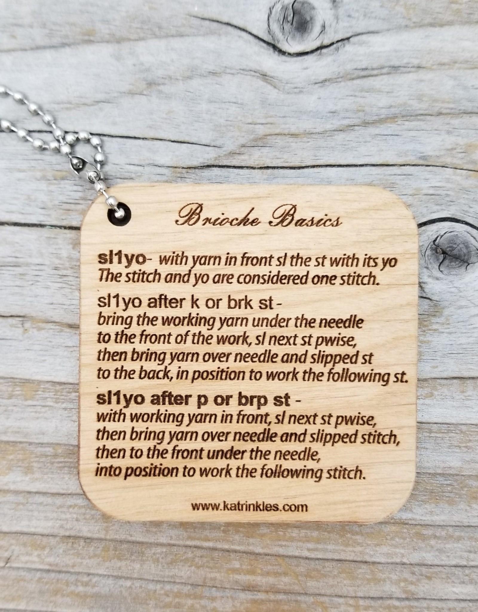 Katrinkles Katrinkles Brioche Basics Mini Tool