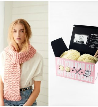 Loopy Mango All you Knit Kit - Scarf