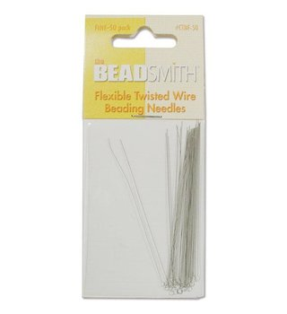 Beadsmith Flexible Twisted Wire Beading Needles