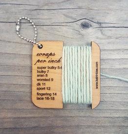 Katrinkles Wraps Per Inch No Lines Mini tool
