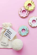 living refinery Donut Medium Pom Pom Maker