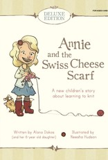 Knitbot Deluxe Edition Annie and the Swiss Cheese Scarf