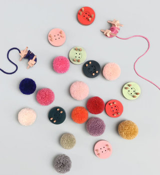 living refinery Button Extra Small Pom Pom Maker