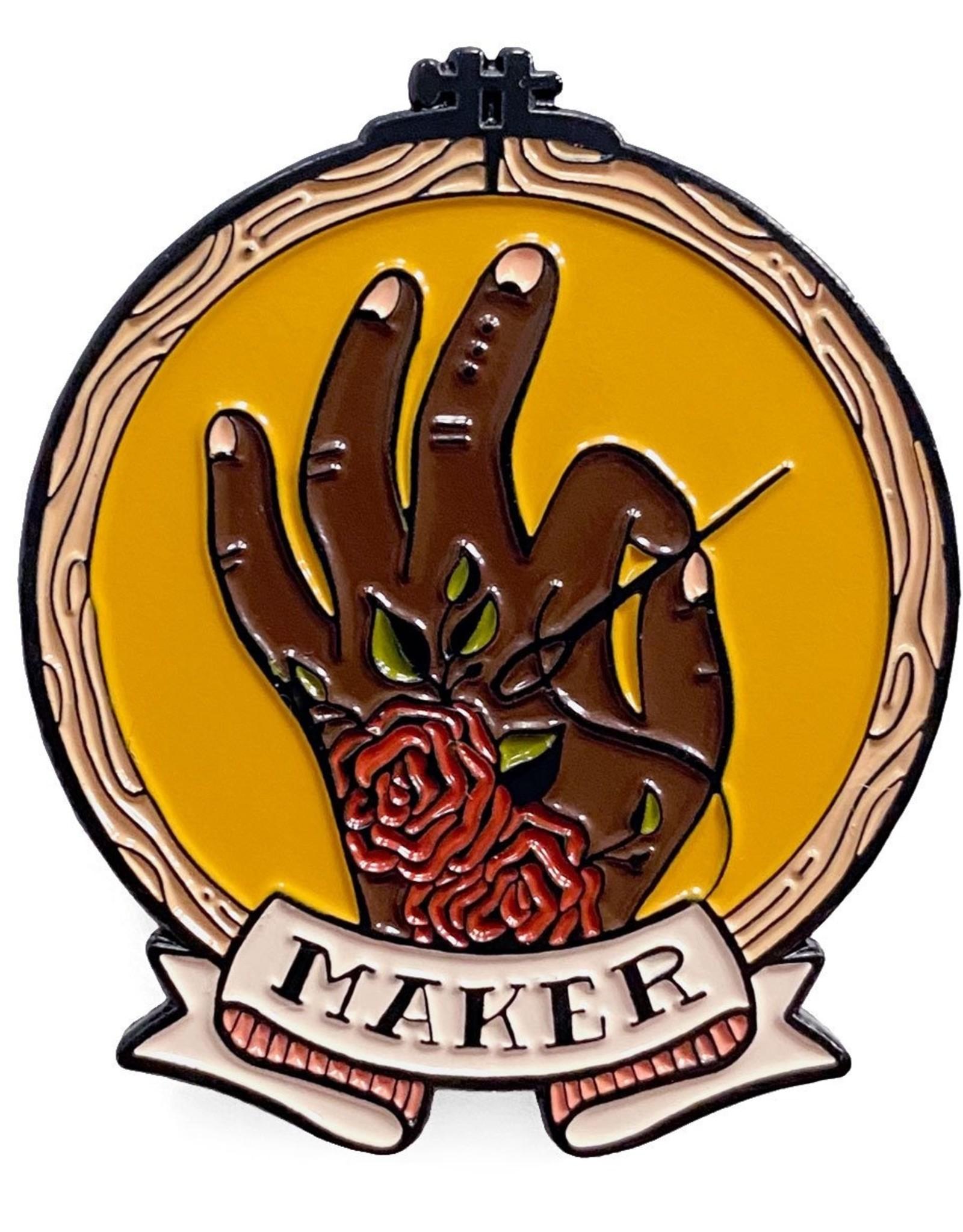 Shelli.can Shelli.Can Stitch Maker Pin Mustard