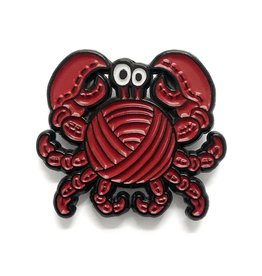 Shelli.can Shelli.Can Crab Cake Pin
