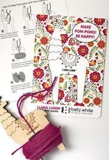 Betz White Llamallooma Pom-pom Maker