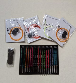 """Knitter's Pride Knitter's Pride Dreamz 4.5"""" Deluxe Needle Set"""