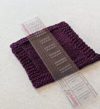 Ann Budd Knits Handy Gauge Ruler