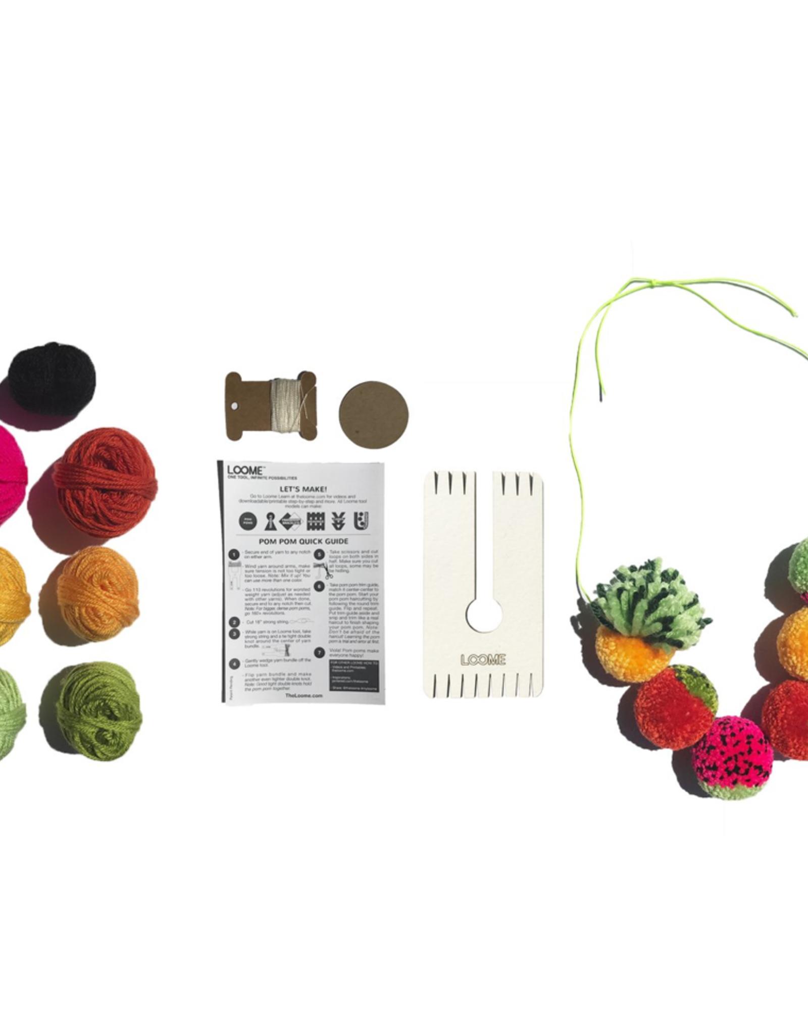 Loome Fruit Pom Pom kit