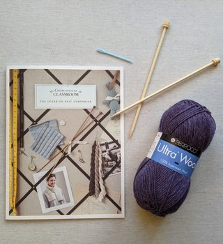 Learn to Knit Kit - Scarf